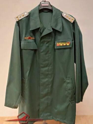 GERMAN DEMOCRATIC REPUBLIC DDR UNIFORM COAT CAPTAIN BORDER TROOPS GRENZTRUPPENUniformes, cascos y gorras - 588