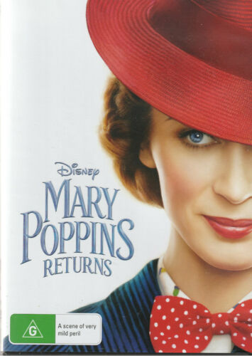 MARY POPPINS RETURNS New/Unsealed Region 4  I combine postage where possible