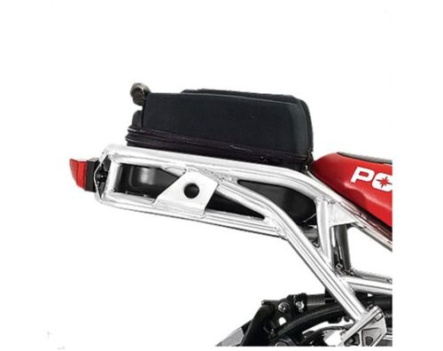 New OEM Polaris Snowmobile Water Resistant Black Rear Rack Bag 2878731 <br/> 30 DAY RETURNS - US FACTORY DEALER - FAST FREE SHIPPING