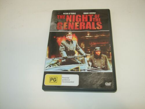 The Night Of The Generals - DVD **Free Postage** Peter O'Toole Omar Sharif