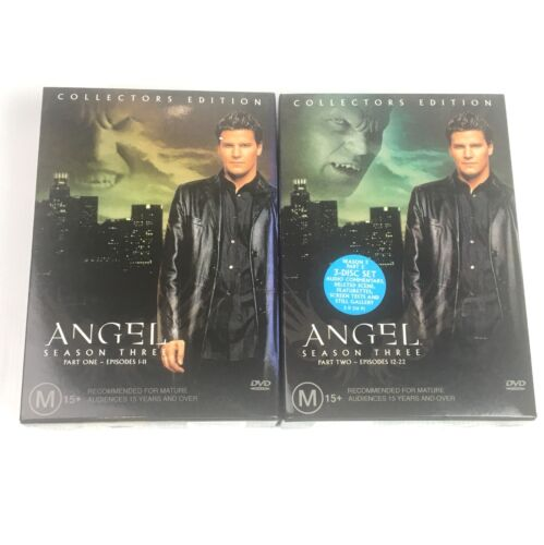 Angel - Season 3: Part 1 And Part 2 Collectors Edition DVD Region 4