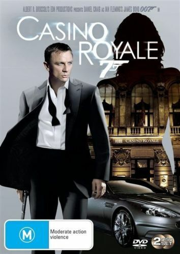 CASINO ROYALE (MOVIE - 2 DISC DVD SET SEALED + FREE POST)