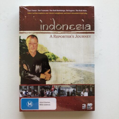 INDONESIA - A Reporter's Journey - Mike Carlton DVD 3 disc set NEW & SEALED