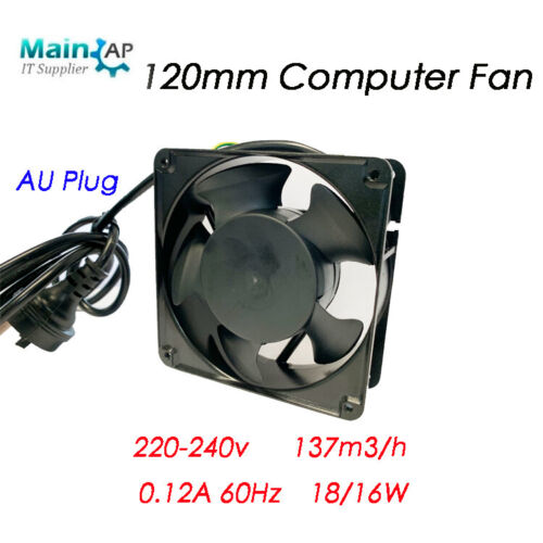120mm AC Fan Computer Fan For Network Cabinet Server Rack Cooling High Quality