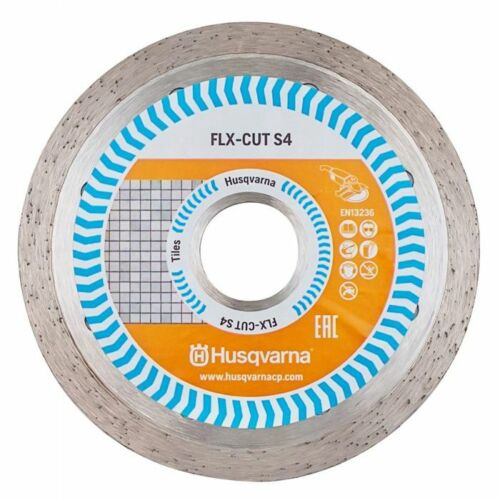 Husqvarna CONTINUOUS DIAMOND BLADE For Ceramic Cutting 180x25.4mm Or 230x22.2mm