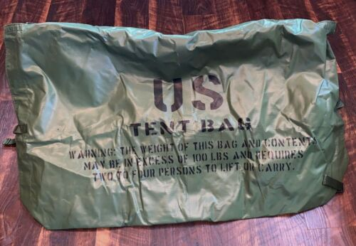 MCP Modular Comand Post Tent storage transport bag Assembly green US MILITARY Other Military Surplus - 588
