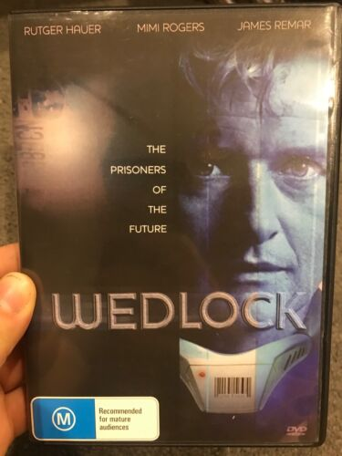 Wedlock region 4 DVD (1991 Rutger Hauer / Mimi Rogers sci-fi action tv movie)