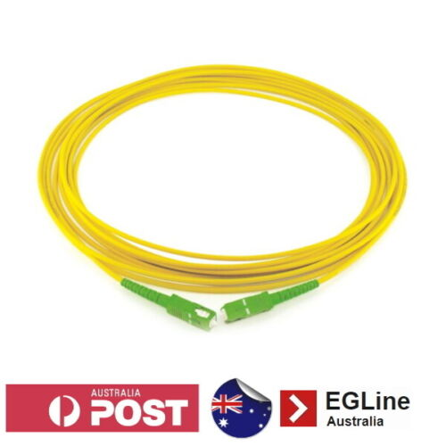 SC / APC - SC / APC Singlemode Fibre Optic Patch Lead (Simplex) NBN DPU FTTC