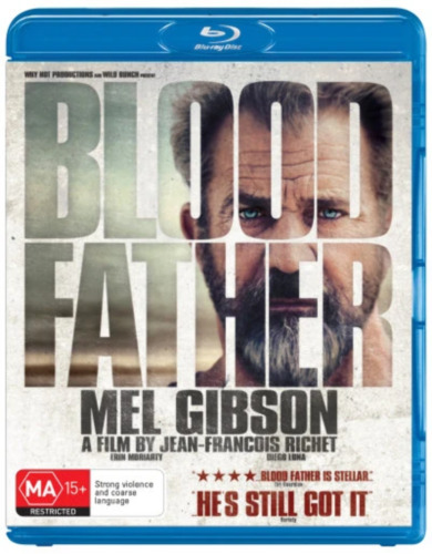 Blood Father (Blu-ray) NEW/SEALED