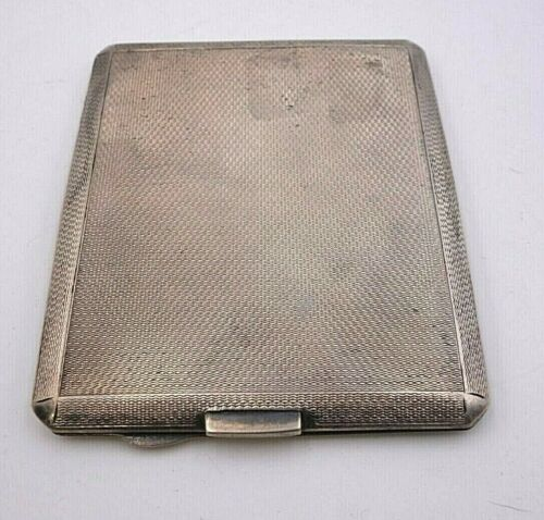 English Sterling Business Card Holder / Case by Mappin & Webb  #8132