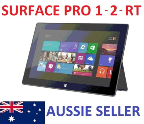 Microsoft Surface Pro 1st Gen Intel i5 4G 64G/128G Touch Type Cover and Pen BYOD
