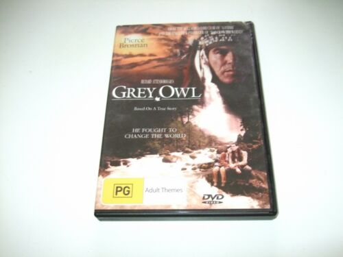 Grey Owl - DVD **Free Postage** Pierce Brosnan