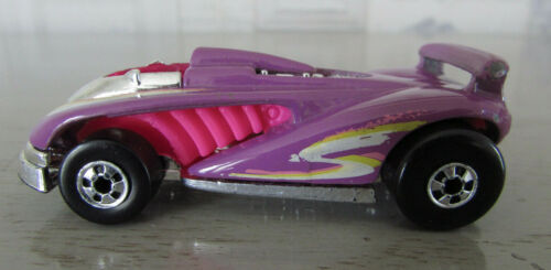 Voiture sport violette Metal Hot Wheels 1990 Speed Shark Mattel Malaysia