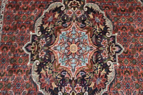 C 1960 Stunning Antique Vintage Exquisite Hand Made Hand Knotted Rug 6x3
