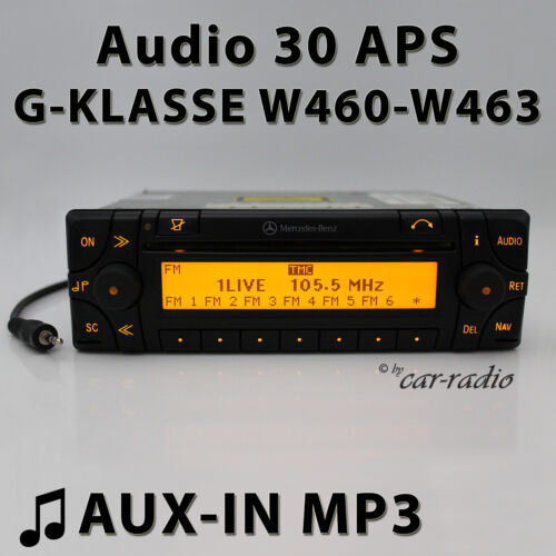 Mercedes Audio 30 Aps Aux-In W460 To W463 Navigation System G-Class Radio