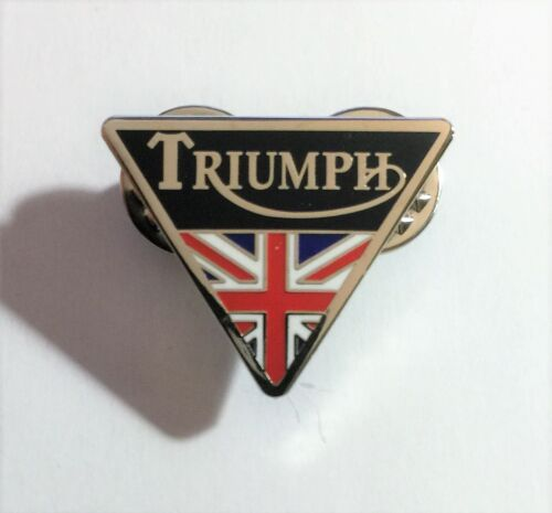 TRIUMPH Motor Cycles, Hat Pin, Lapel Pin, 2 clutches, Car, Vintage Gift