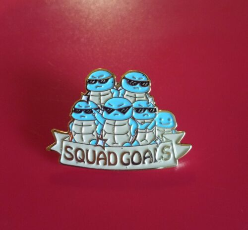 Pokemon Pin Squirtle Pin Squirtle Squad Retro Metal Brooch Badge Lapel