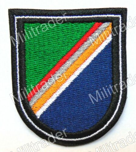 US Army 75th Ranger Regiment and Special Troops Battalion Beret Flash PatchOther Militaria - 135