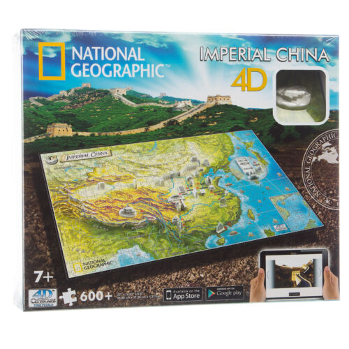 NEW Games National Geographic 4D Imperial China Puzzle