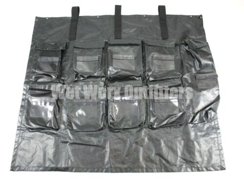 London Bridge Trading 2767B Roll Up Spill Insert Black Medical Insert PanelBags & Packs - 156459