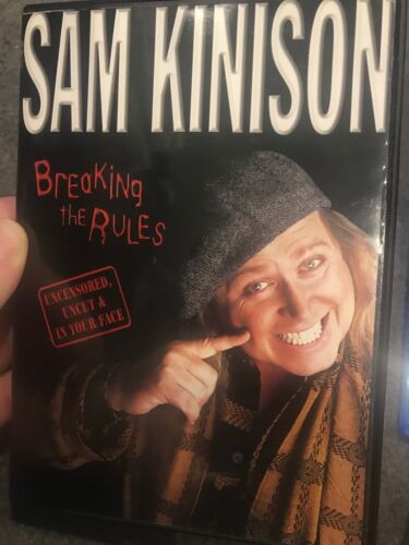 Sam Kinison - Breaking The Rules region 1 DVD (stand up comedy show)