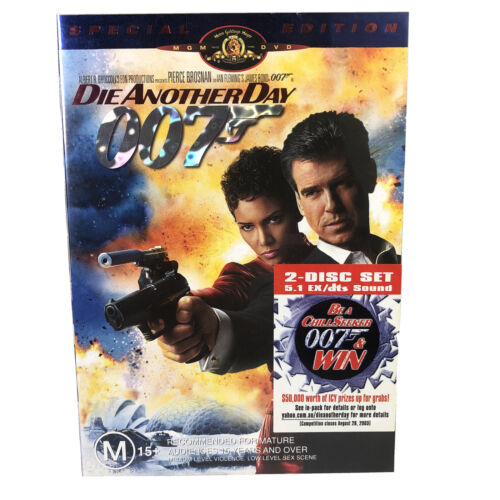 Die Another Day 2 Disk Special Edition Region 4 DVD Free Postage