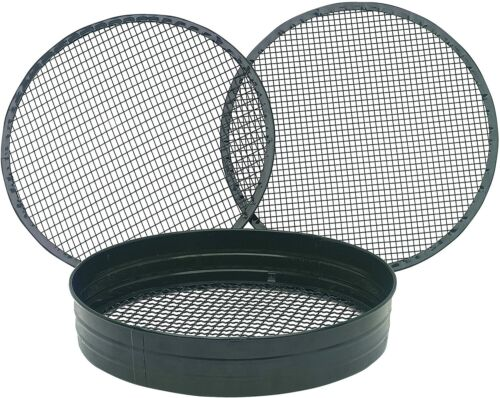 Heavy Duty Garden 3 in 1 Riddle Riddler Soil Compost Sieve Mesh Seed Tray