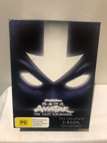 DVD Avatar The Last Airbender: Complete 3 Book Collection Box Set FREE POST #V1
