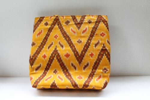 Tribal Ethnic Old Textile Cloth Used To Make Modern Shopping Hand Bag NH2886
