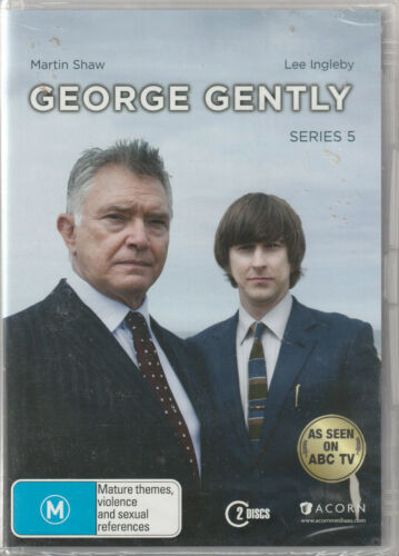 GEORGE GENTLY Series 5 NEW but UNSEALED 2-DVD SET Region 4
