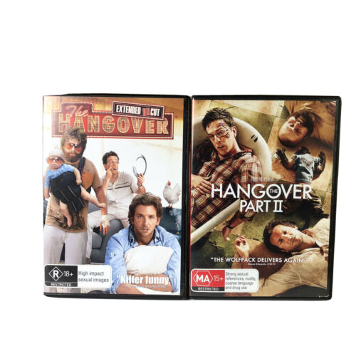 The Hangover (Part 1 & Part 2) Region 4 Tracked Aus Post