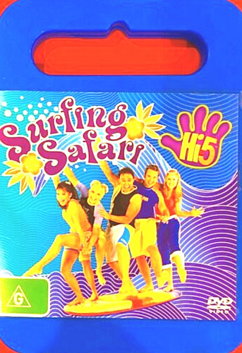 Hi-5 Surfing Safari R4 Dvd