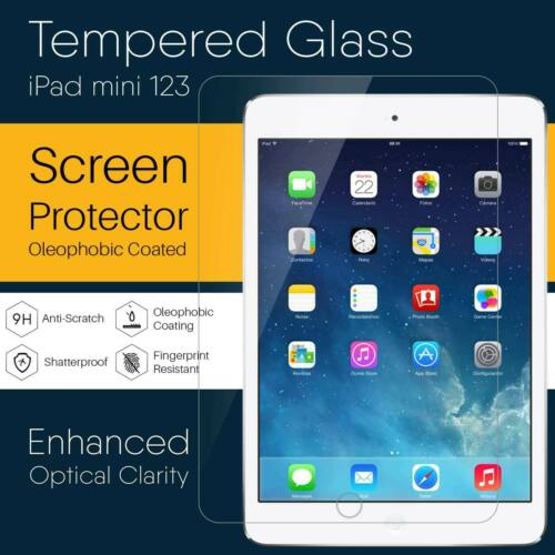 New Tempered Glass Clear Film Screen ProtectorReal  For iPad Mini 1/2/3 OZ