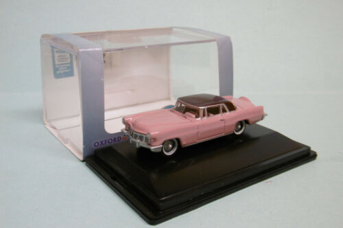 Oxford - LINCOLN CONTINENTAL MKII rose Voiture US Neuf HO 1/87
