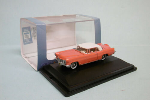 Oxford - LINCOLN CONTINENTAL MKII orange Voiture US Neuf HO 1/87