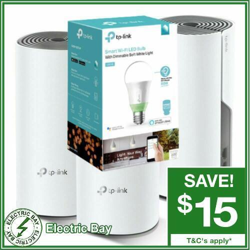 TP-Link Deco E4 3 PACK AC1200 Wireless Gigabit Router Home Mesh WiFi 6 System