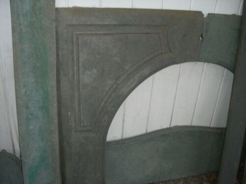 Antique Green Marble  Fireplace Mantel   or Soapstone 1800's