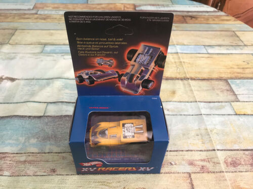 Voiture Miniature Hot Wheels - X-V Racers 1985 Ultra-Sonix Jaune Hotwheels 2568