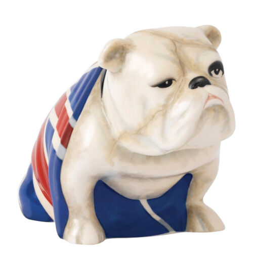 NEW Royal Doulton Jack, the Bulldog No Time To Die Edition