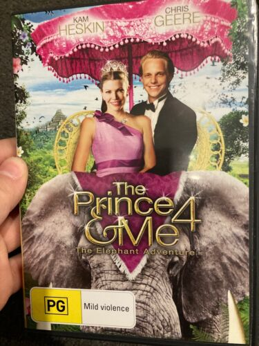 The Prince And Me 4 - The Elephant Adventure region 4 DVD (2010 family movie)