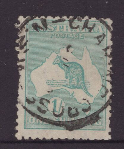 NSW CHARING CROSS postmark on 1/- 3rd w/m Kangaroo