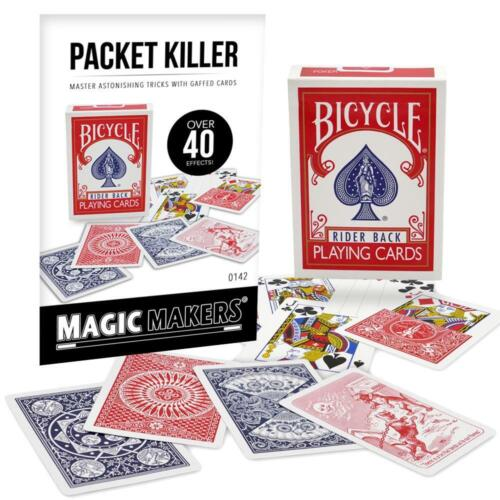 Packet Killer Deck Bicycle Playing Cards - Make Your Own Card Tricks With Flair!