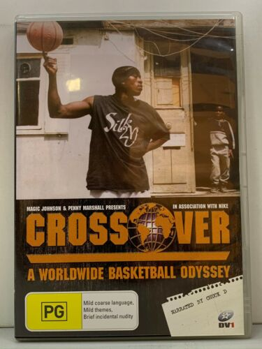 DVD - Crossover : A Worldwide Basketball Odyssey - FREE POST #P2