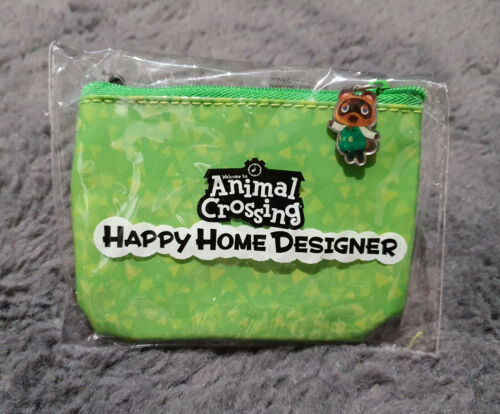 VERY RARE ~ Animal Crossing Happy Home Designer Pouch, Case, Card Holder, Amiibo