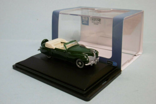 Oxford - LINCOLN CONTINENTAL 1941 vert foncé Voiture US Neuf HO 1/87