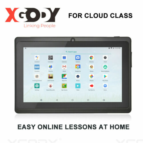 "XGODY 7"" Android 8.1 Oreo 1+16GB Kids Tablet PC WIFI HD Dual Camera Dual System"