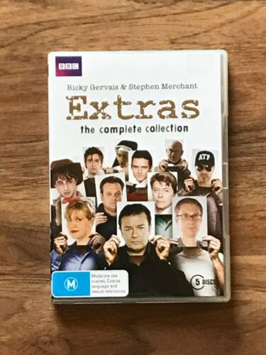 Extras - The Complete Collection DVD