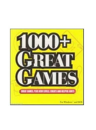 GAME - PC DOS Windows  - 1000+ Great Games - FREE POST #P2