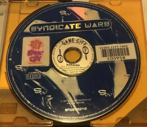 GAME - PS2 Playstation 2 - Syndicate Wars Playstation -DISC ONLY - FREE POST #P2