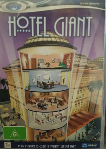 GAME - PC CD-ROM - Hotel Giant - FREE POST #P2